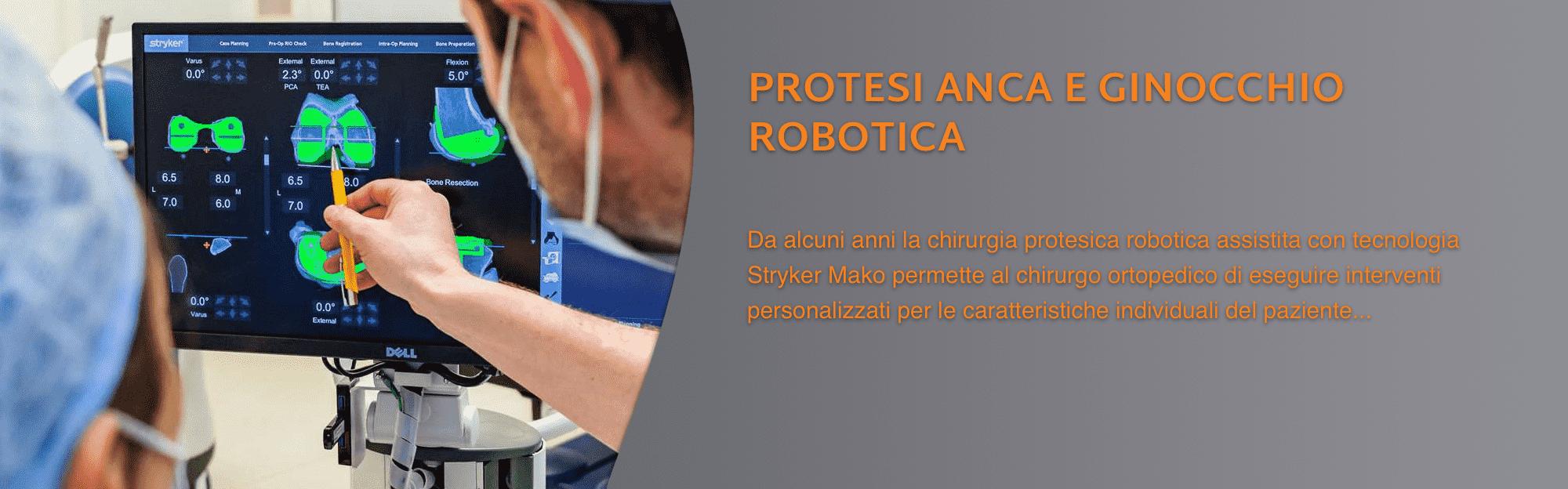 protesi robotica anca ginocchio